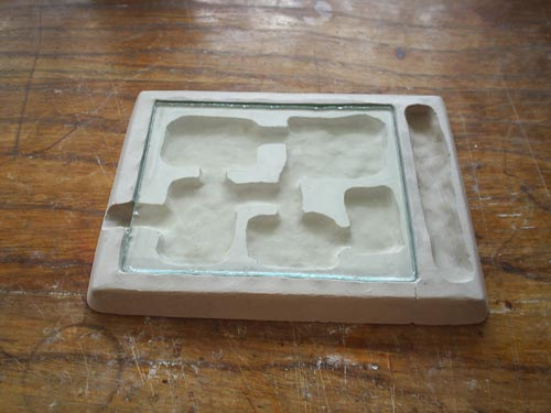 Instructions Of Making A Plaster Antfarm